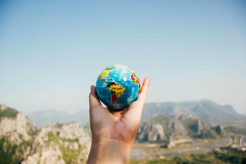 spullen opslaan tijdens wereldreis